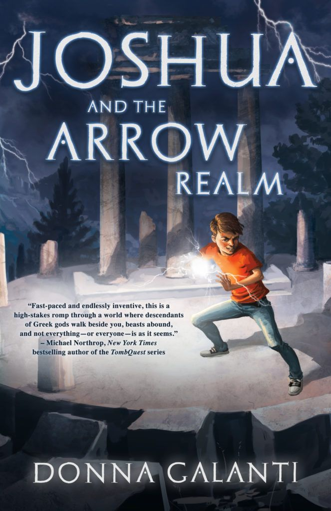 Book Trailer & Giveaway for Joshua and the Arrow Realm @DonnaGalanti…