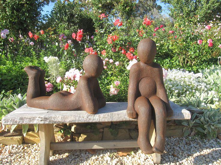 "Sculpture Autumn 2017 ""Children Chatting"" Maria Coyle"
