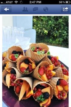 baby shower menu ideas for spring - Google Search