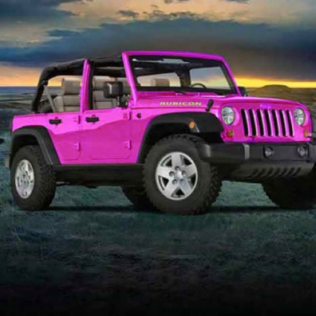 If only pres would make my ultimate fantasy come truee... real life barbie jeep!