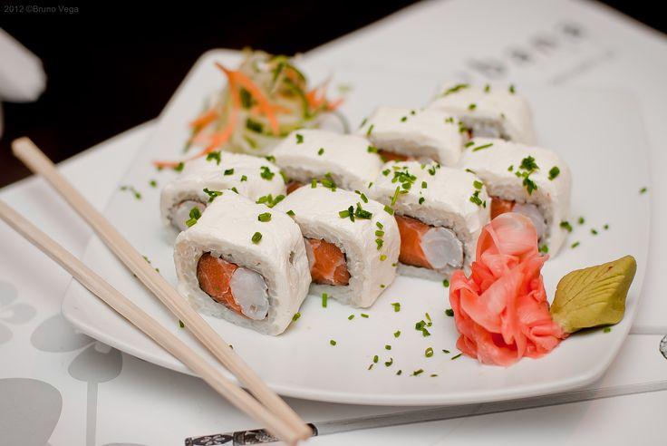 Sushis. Ikebana Japanese Cuisine, 8vo piso de Hotel Sunfish Iquique - Chile.