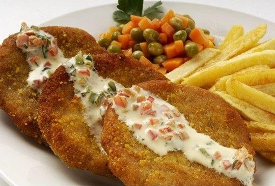 Pollo a la Milanesa (Chicken a la Milanesa)