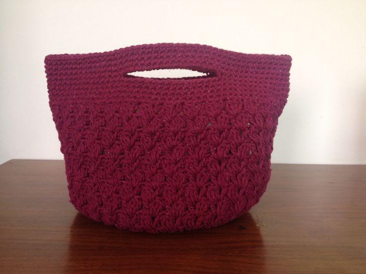 Bolsa de mão - crochê