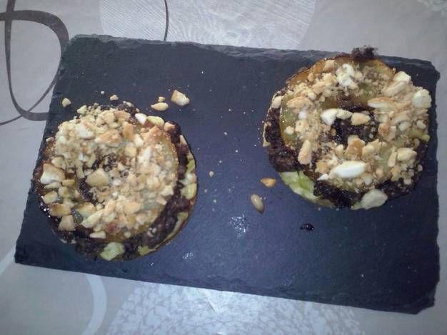 Pincho gourmet de morcilla