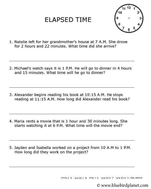 Free Worksheets Time Worksheets Adding And Subtracting Free – Elapsed Time Worksheets 4th Grade