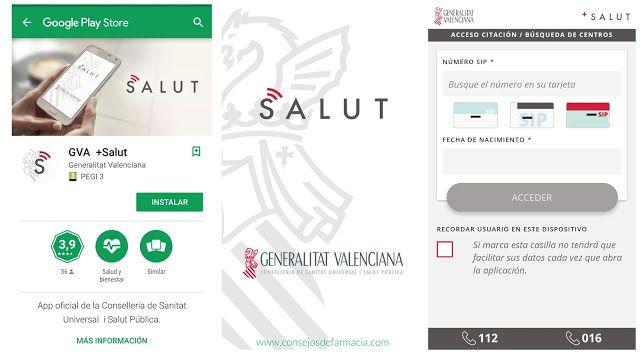 App GVA +Salut - instalación    ¿Sabías que ya puedes pedir cita en tu centro de salud desde el móvil?  En el blog #consejosdefarmacia te explico cómo funciona la app GVA +Salut, paso a paso 😉  #farmacia #parapacientes