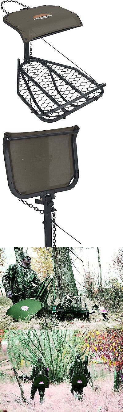 Tree Stands 52508: Millennium Treestands M25 Hang-On Tree Stand (Includes Safelink Safety Line) BUY IT NOW ONLY: $113.99
