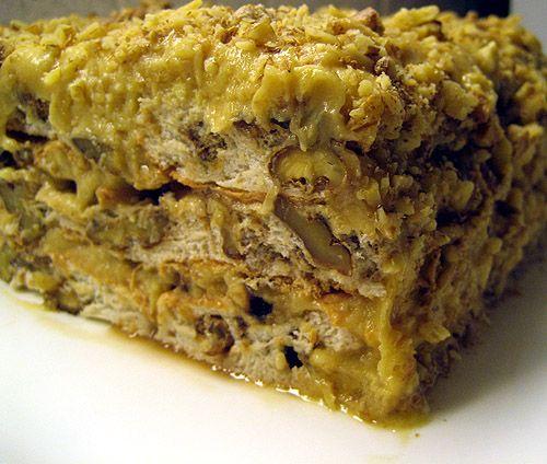 Пишу то название, под которым торт у меня существует уже много лет, с тех пор, как меня научили его печь... в Ташкенте, куда я ездила на неделю к знакомым!Рецепт еще с тех времен, когда в стране был…