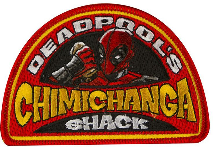 """WeLoveFine has released a work shirt called """"Deadpool's Chimichanga Shack"""". [LINK]"""