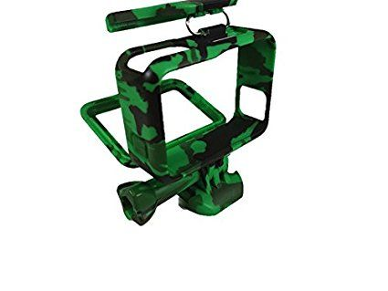 T.N.A.C. Gator Green Camo Housing for GoPro Hero 5.  Protect and Customize your new Camera.  Buy today and Share your next Adventure!
