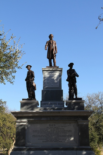 Confederate Soldiers Monument Texas State Capitol, Austin