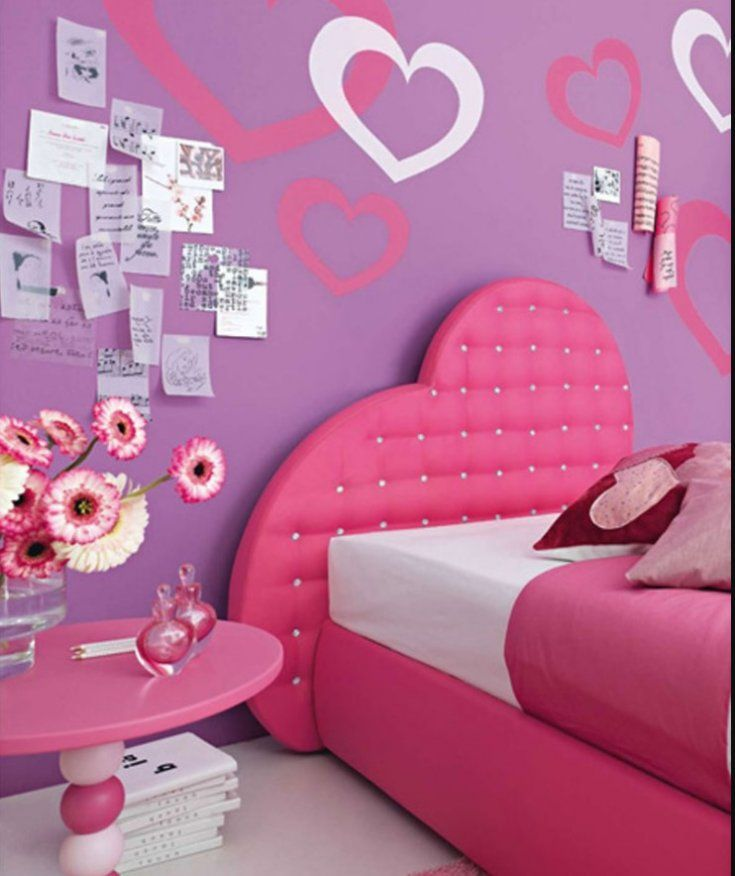 Purple Girls Bedroom Ideas Part - 27: 20 Creative Girls Bedroom Ideas For Your Child And Teenager