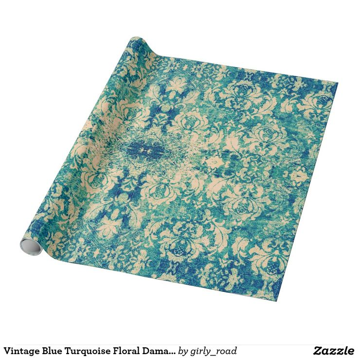Vintage Blue Turquoise Floral Damask Pattern Wrapping Paper http://www.zazzle.com/vintage_blue_turquoise_floral_damask_pattern_wrapping_paper-256140007316554913?design.areas=%5Bwrappingpaper_horz%5D&CMPN=shareicon&lang=en&social=true&view=113416108581356121&rf=238588924226571373