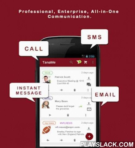 TanaMe FREE - All-in-One Comms  Android App - playslack.com ,  Call Zimbabwe Mobile 16c/9p per minute. TanaMe - THE ONLY FULLY AGGREGATED Professional Enterprise Communication App YOU will ever NEED.FREE CALLS: Reduce communication costs with your contacts and enjoy unlimited voice calls worldwide, by dialling their Tana Username.FREE ENTERPRISE MESSENGER: Instant professional communication with your contacts and peersFREE MAIL AGGREGATOR: Setup ALL your email accounts and enjoy full email…