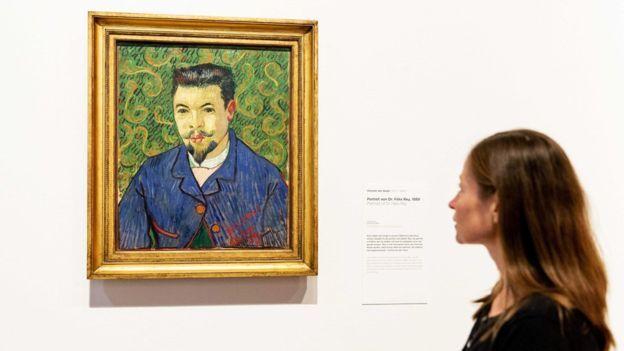 """En 1889, Vincent van Gogh le regaló un retrato al doctor Félix Rey. El doctor escribió que al recibirlo """"estaba simplemente horrorizado"""". Fue utilizado por la madre de Rey para tapar un agujero en el gallinero"""