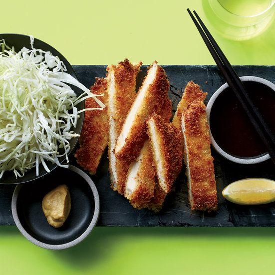 Get Food & Wine's supercrispy pork tonkatsu recipe from star chef Andrew Zimmern.