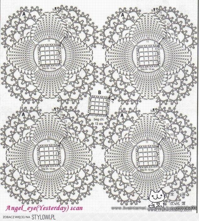 17 best Proyectos que intentar images on Pinterest | Crochet jacket ...