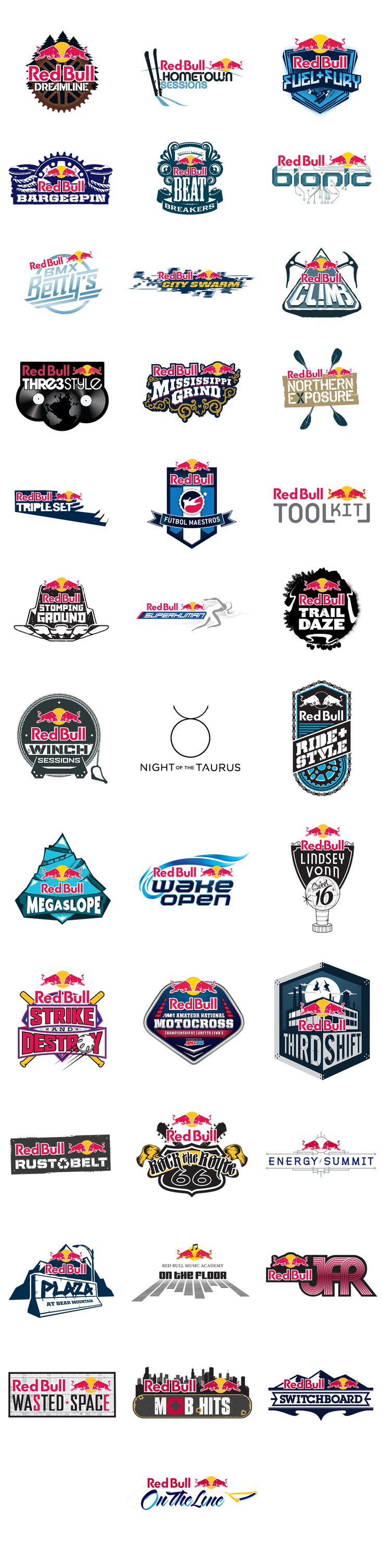 Six-Speed - Red_Bull_Logos
