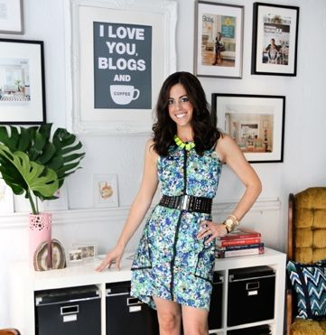 Erin Gates of Elements of Style and Erin Gates Design #theeverygirl