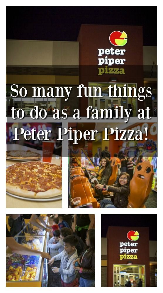 There are so many fun things to do together as a family at Peter Piper Pizza! #Sponsored