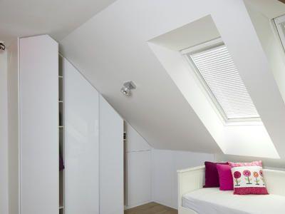 Dětské pokoje v podkroví