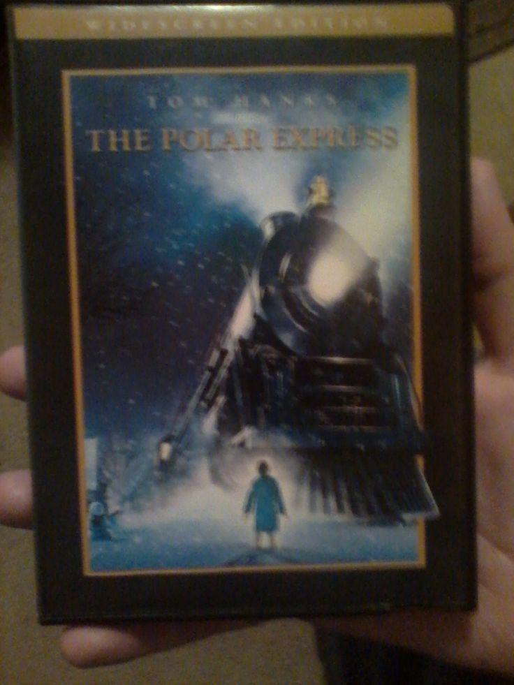 THE POLAR EXPRESS DVD.