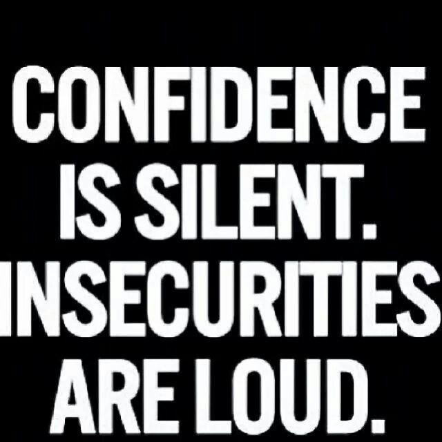A quiet confidence