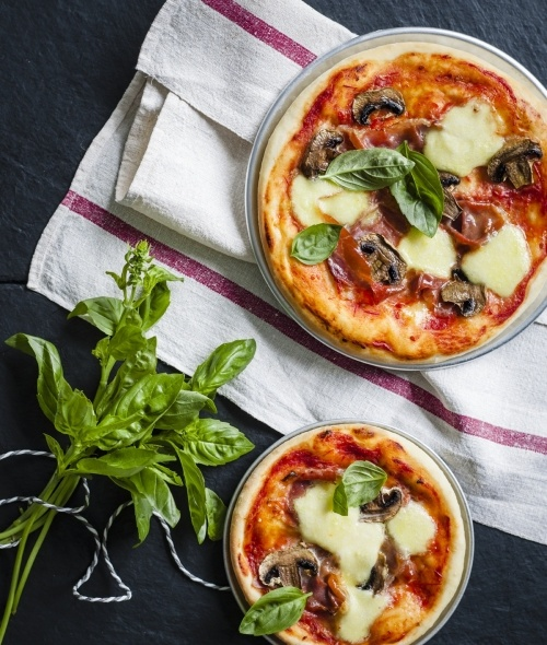 Mushroom Prosciutto Pizza - Thermomix Cooking for your Baby and Toddler