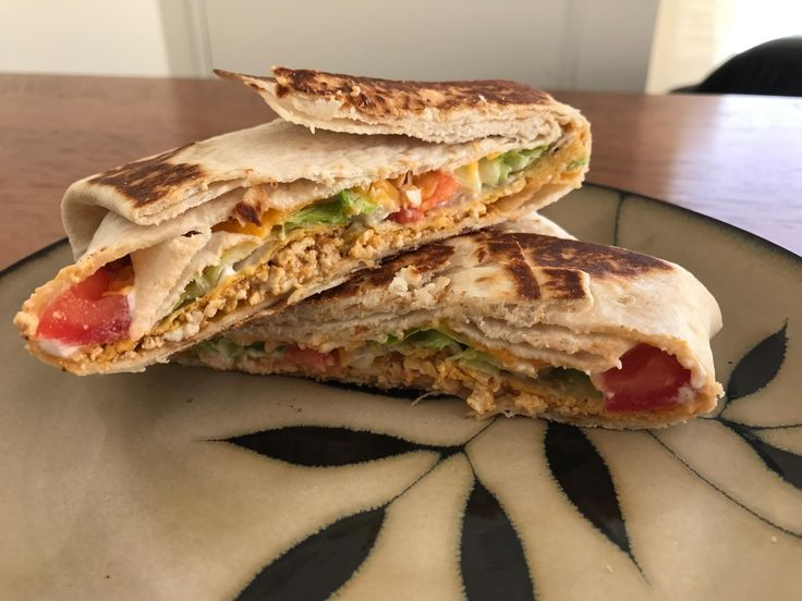 I made vegetarian copycat Taco Bell crunch wrap supremes! #vegetarian #vegan #food #foodporn #veggie #foodie #healthy #recipe #veganism #whatveganseat #healthyfood