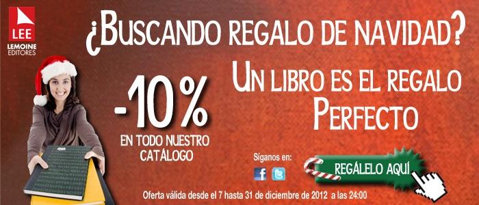 -10% de descuento en todo nuestro catálogo www.librosyeditores.com