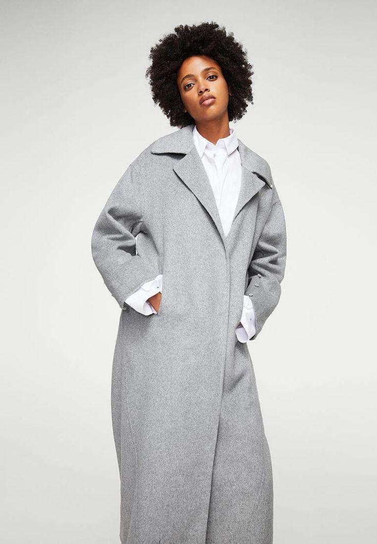 Пальто Mango - FOX купить за 12 999 руб MA002EWXOA45 в интернет-магазине Lamoda.ru