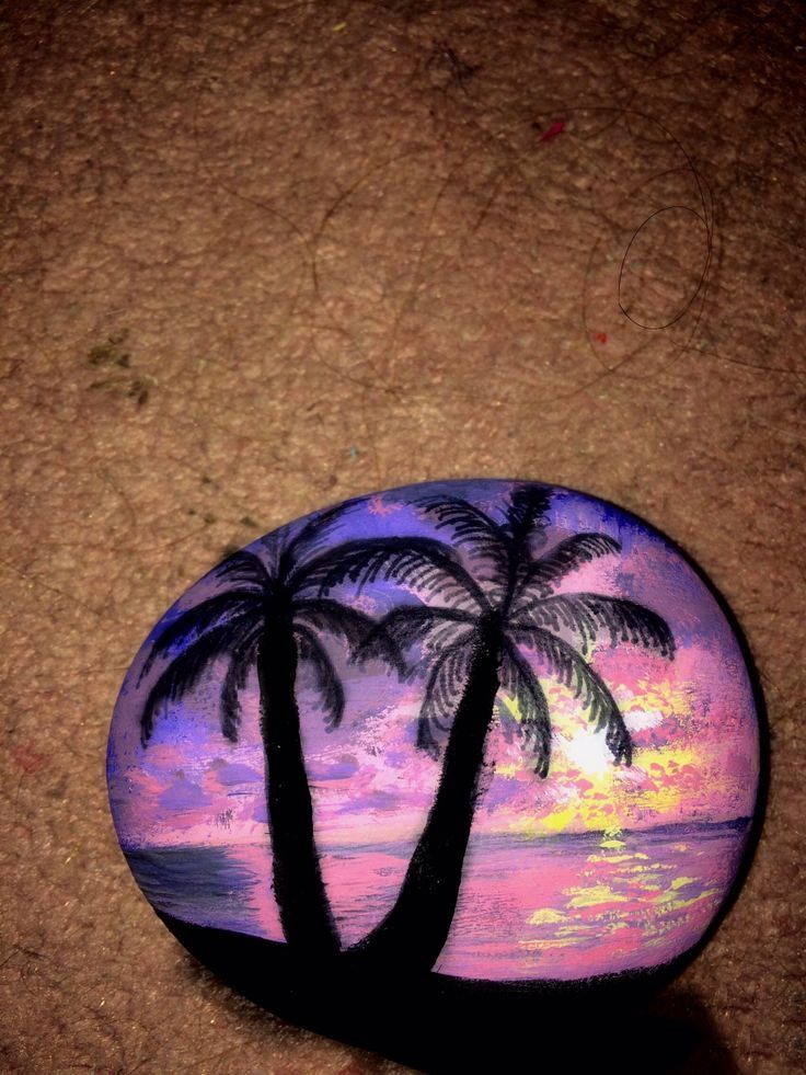 Image result for painted rocks sunsets | Rocks & Mosaics ...