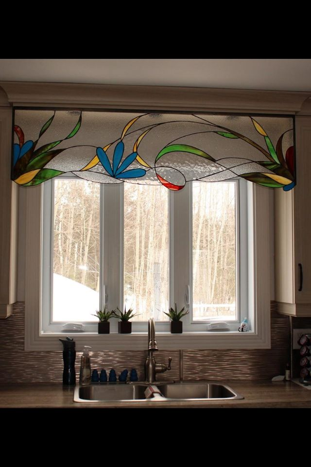 17 best images about stain glass window corners on for Stained glass kitchen windows