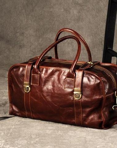 8a3996afe77b GENUINE LEATHER MENS COOL WEEKENDER BAG TRAVEL BAG DUFFLE BAGS OVERNIGHT BAG  HOLDALL BAG FOR MEN