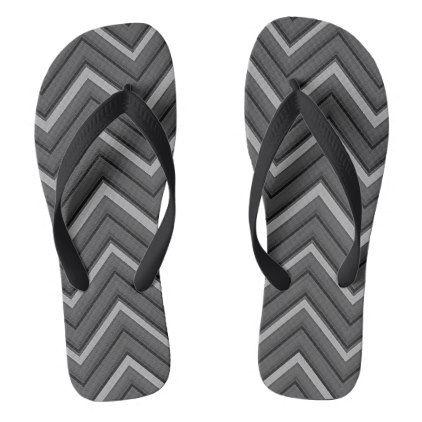 hammered metal chevron striped flip flops - pattern sample design template diy cyo customize