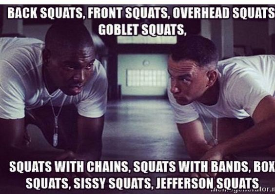Don't skip your squats.