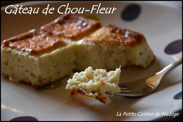 Gâteau de Chou-Fleur 3 propoints Weight Watchers la part