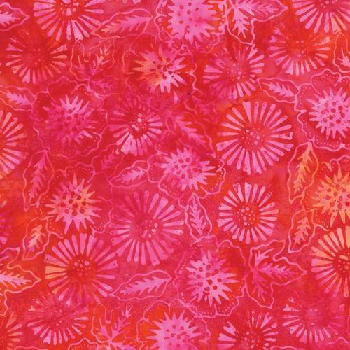 Tiger Lily Batiks in Sun Rise (4331 13) // Juberry Fabrics