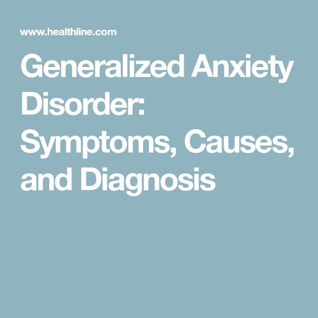 the diagnosis of generalized anxiety disorder a mental disorder People with generalized anxiety disorder (gad) experience extreme worry that can interfere with sleep and is usually accompanied by body symptoms ranging from tiredness to headaches to nausea.
