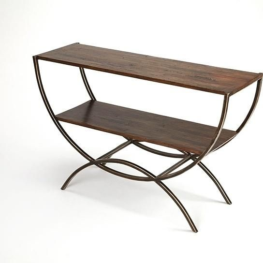 Buy Butler Harmony Industrial Console Table by Butler Specialty on Dot & Bo