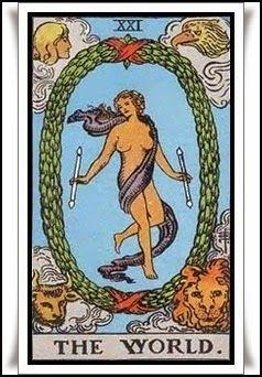 Las Revelaciones del Tarot: El Mundo - Adivinacion- - Arcanos Mayores - Tarot ...