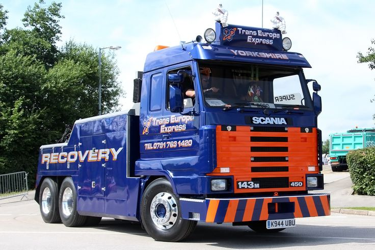 Scania 143M Trans Europa Express  | Manchester Etihad Stadium Sunday 17-July-2016 The Great Northwest Truck Show