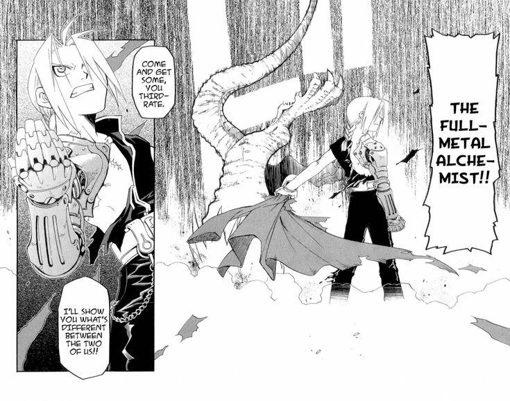Risultati immagini per fullmetal alchemist manga