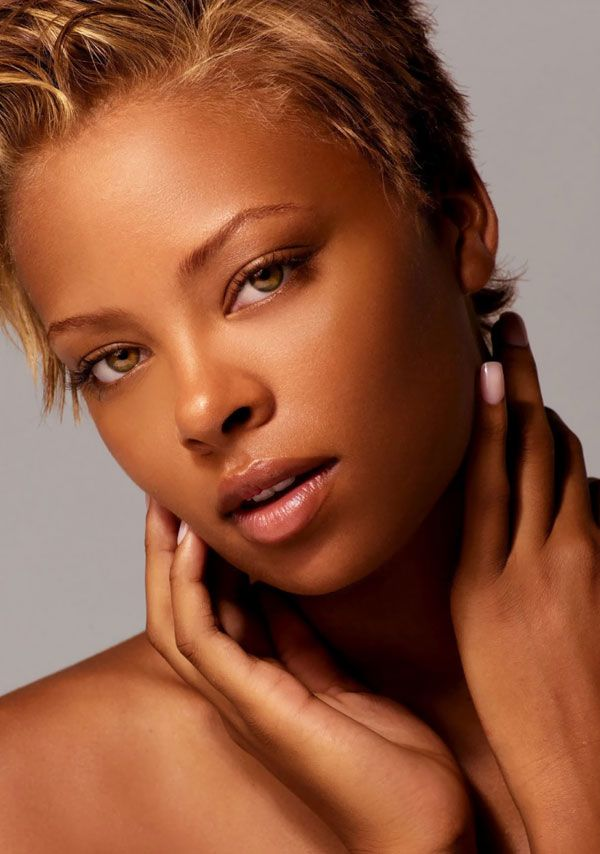 Fashion model Eva Pigford {beautiful female african-american black woman portrait photography}