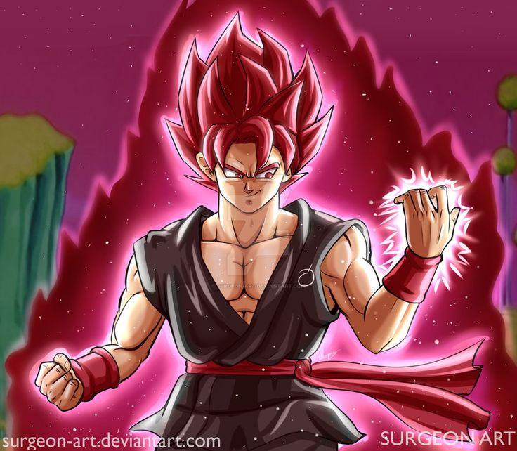 Evil Goku by Surgeon-Art