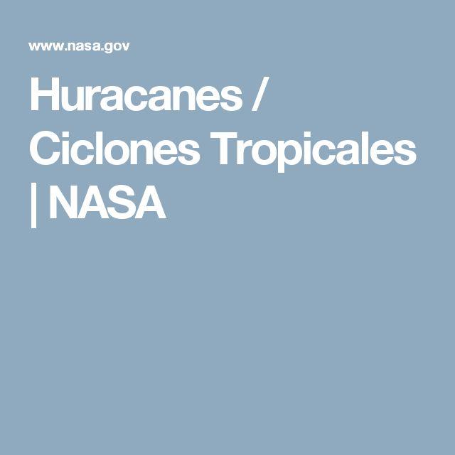Huracanes / Ciclones Tropicales |  NASA