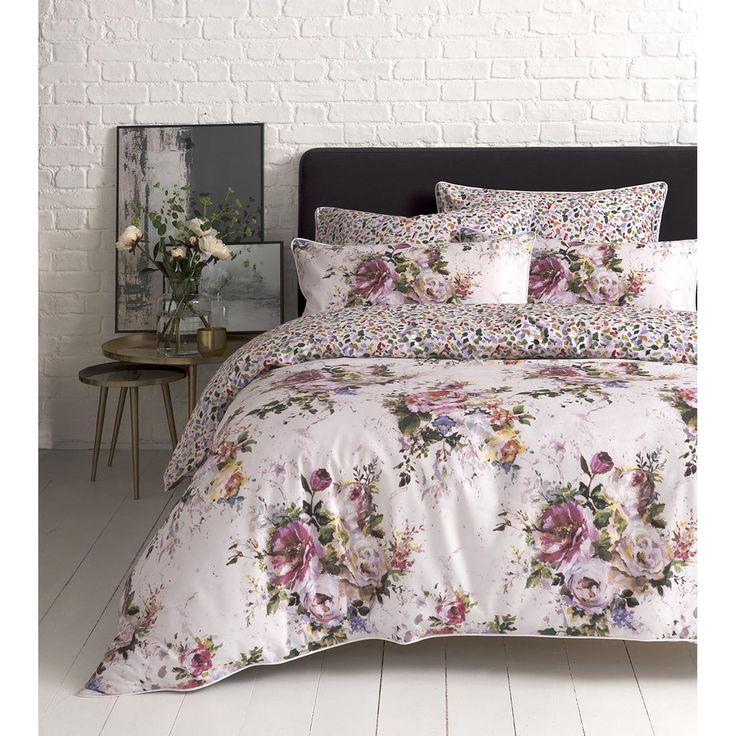 Impressionist Floral Double Duvet Set, Multi