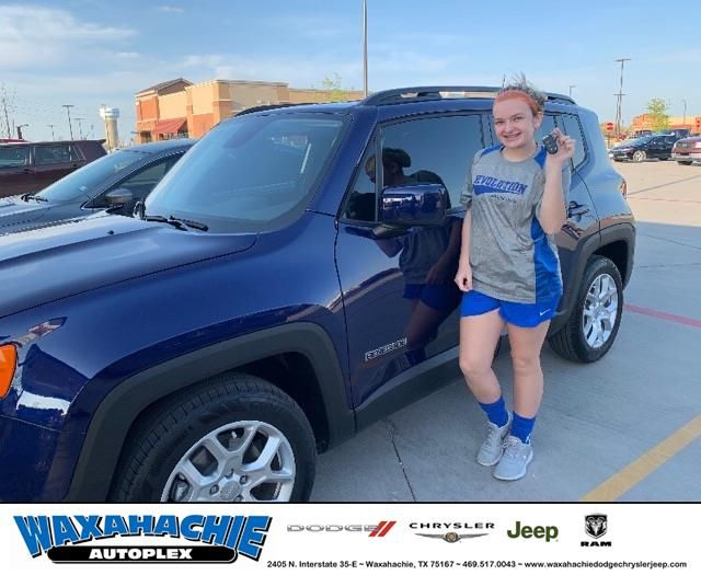 Congratulations Maddie On Your Jeep Renegade From Christian Seth