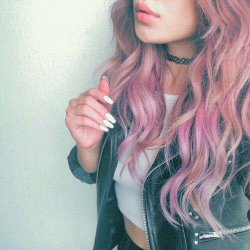 grunge aesthetic hair