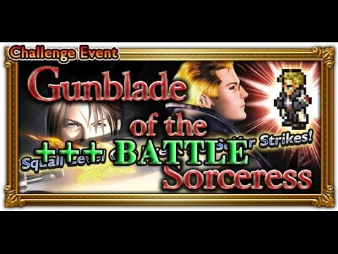 [FFRK] FFVIII Gunblade of the Sorceress - Seifer | Sorceress and Knight ...
